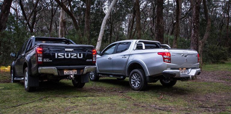 Mitsubishi Triton Exceed V Isuzu D Max Ls Terrain