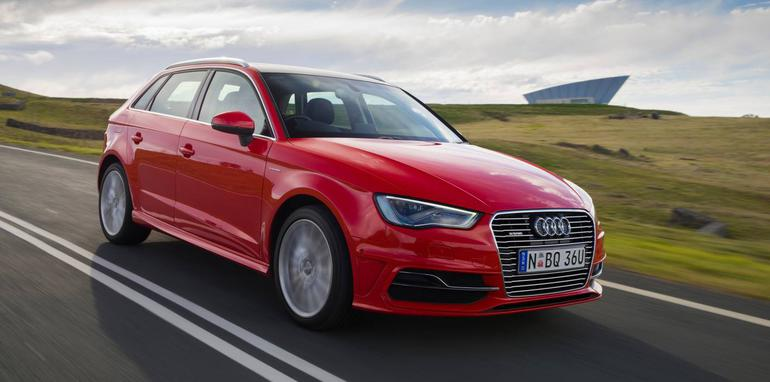 Outside of the Audi range, the A3 e-tron's most obvious rival ...