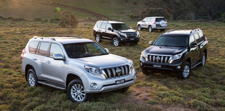 2016 Toyota LandCruiser Prado pricing and specifications