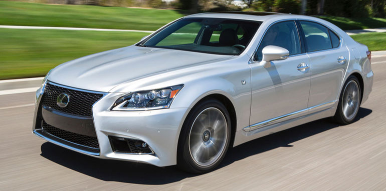 2013 Lexus LS 460 F Sport (pre-production model shown)