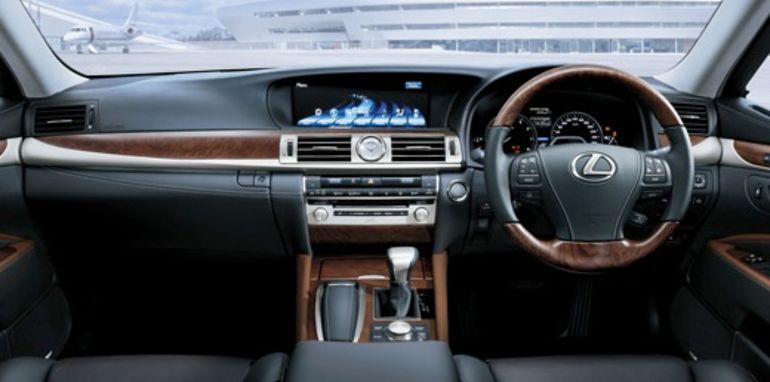 2013 Lexus LS Sports Luxury interior (pre-production model shown)