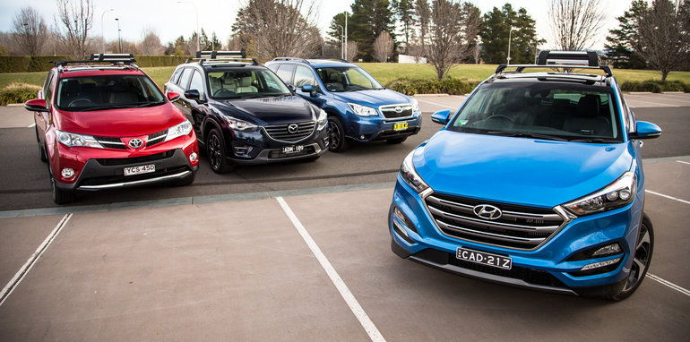 Suv Comparison Mazda Cx 5 V Toyota Rav4 V Subaru Forester ...