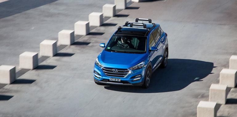 Excellent Hyundai Tucson V Mazda CX5 V Subaru Forester V Toyota