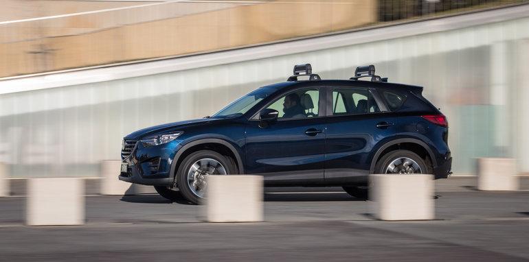 New Hyundai Tucson V Mazda CX5 V Subaru Forester V Toyota