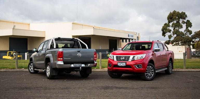 2015-nissan-navara-st-x-V-volkswagen-amarok-highline-ute-comparison-17