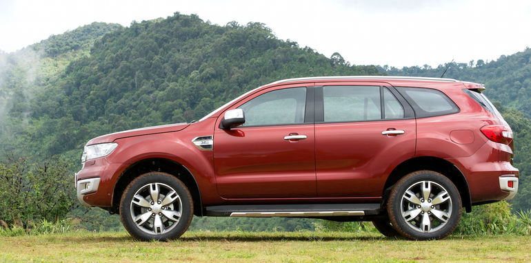 Ford Everest on location 027