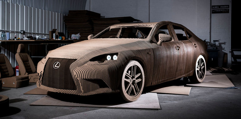 lexus-is-origami-cardboard-hero