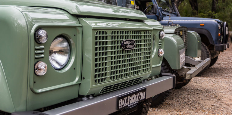 Land Rover Defender Old v New 90 Series-40