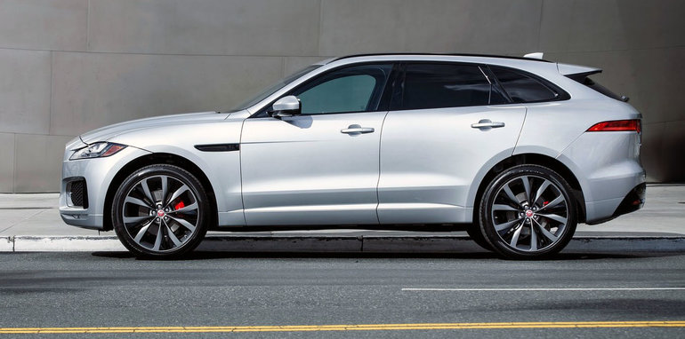 Jaguar F Pace Pricing And Specifications Opener For