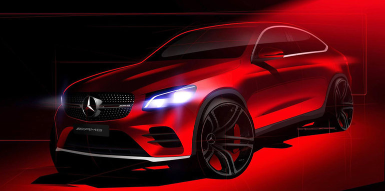 mercedes-amg-glc-43-coupe-sketch