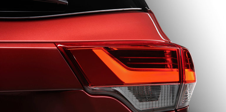 2018 toyota kluger australia. beautiful 2018 toyotaklugerfacelifttaillights and 2018 toyota kluger australia