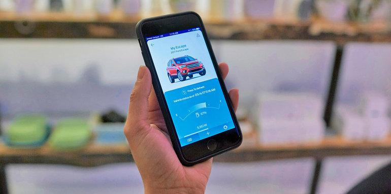 2017 ford escape debuts fordpass remote smartphone tech