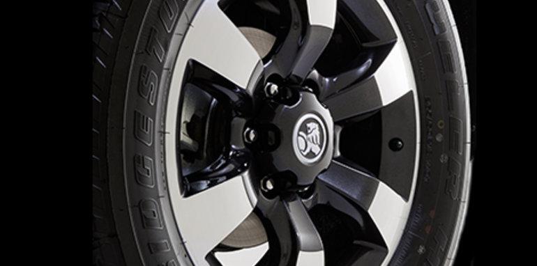 Holden Colorado Storm wheel