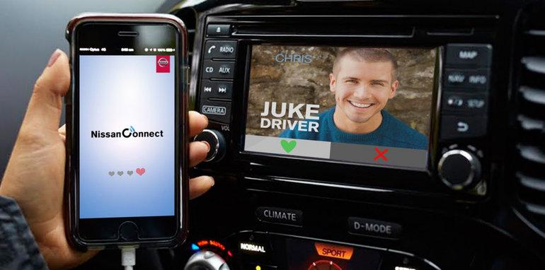 Nissan N-Connect Love app - 1