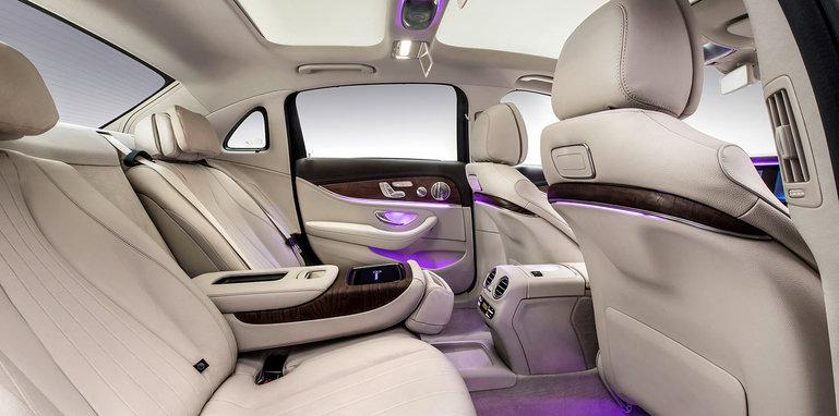 Langversion der neuen E-Klasse Limousine, InterieurLong-wheelb