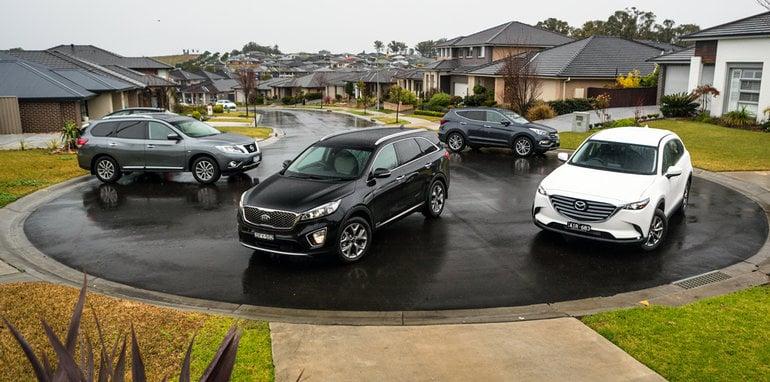 2016-Comparison-Nissan-Pathfinder-ST-L-AWD-v-Hyundai-Santa-Fe-Highlander-diesel-AWD-v-Mazda-CX-9-Touring-AWD-v-Kia-Sorento-Platinum-diesel-AWD-186b