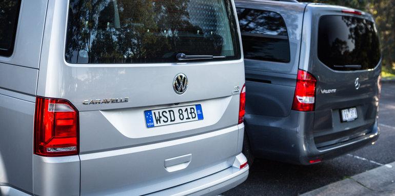 2016 Comparison Volkswagen Caravelle V Mercedes Valente-89