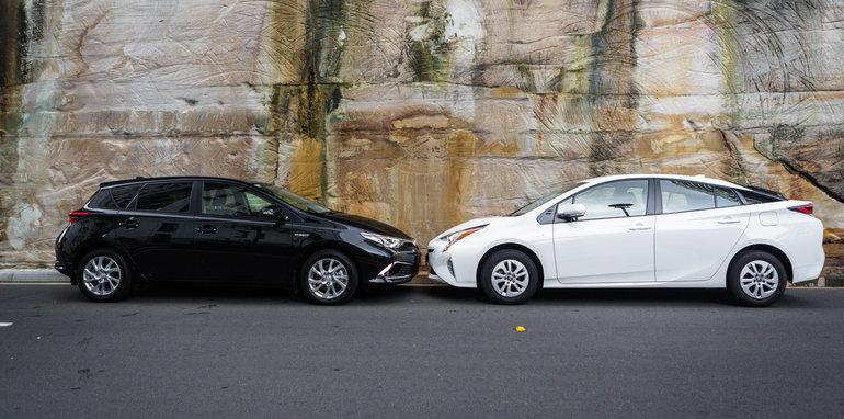 2016 Toyota Corolla Hybrid Toyota Prius Hybrid-22