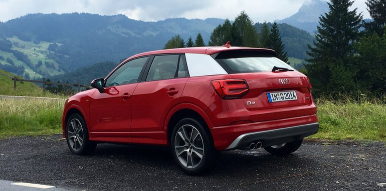 Audi Q2 Wears A Look Inspired By Gridiron And The Iconic