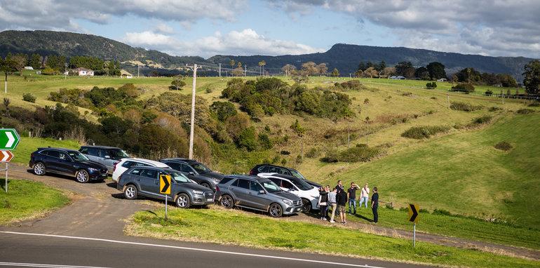 2016 Luxury SUV Comparo_Range Rover Sport V Jaguar F Pace V Porsche Cayenne V Volvo XC90 V BMW X5 V Audi Q7 V Lexus RX350 V Merc GLE250d-312