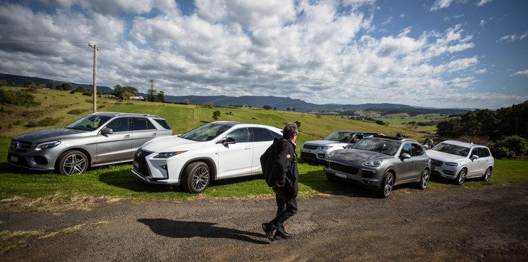 2016 Luxury SUV Comparo_Range Rover Sport V Jaguar F Pace V Porsche Cayenne V Volvo XC90 V BMW X5 V Audi Q7 V Lexus RX350 V Merc GLE250d-324