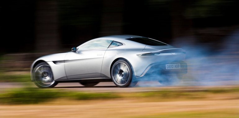 Aston Martin DB10July 2015. Photo: Drew Gibson