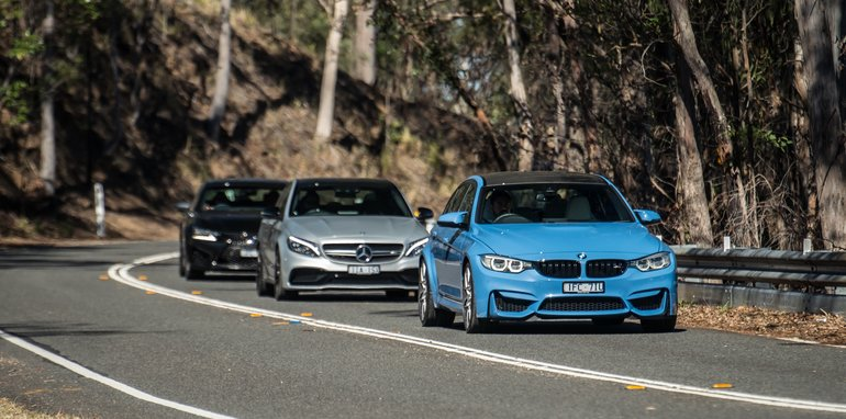 BMW-M3-Mercedes-AMG-C63-comparison - 2