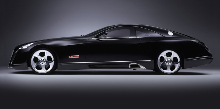 Vision mercedes maybach 6 coupe teased ahead of pebble for Mercedes benz maybach 6 price