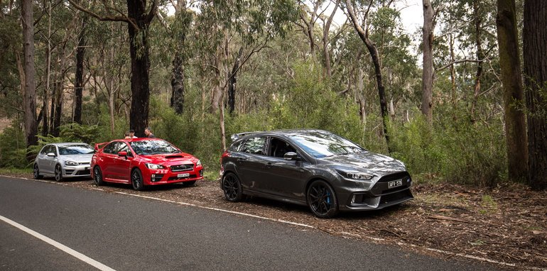 2016-ford-focus-rs-v-subaru-wrx-sti-volkswagen-golf-r-comparison-112