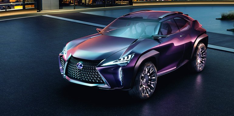 2018 lexus rx. Fine 2018 Above And Below Lexus UX Concept With 2018 Lexus Rx