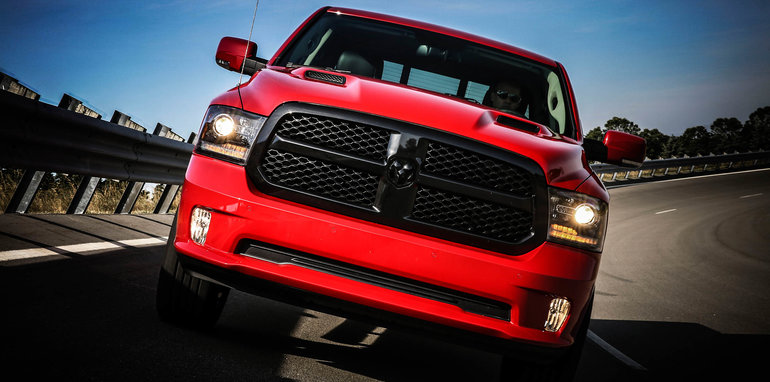 Ram 1500 Night with Mopar accessories.