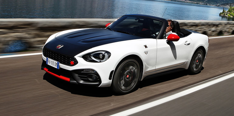 2017 abarth 124 spider pricing revealed mx 5 s turbo. Black Bedroom Furniture Sets. Home Design Ideas