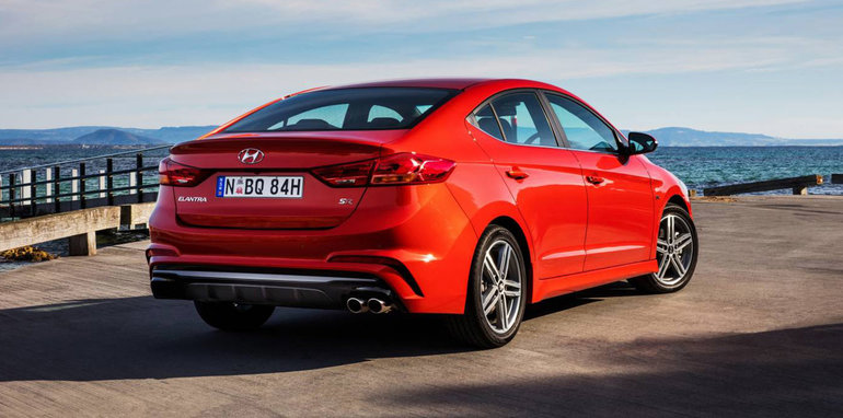 Red 2017 Hyundai Elantra >> 2017 Hyundai Elantra SR Turbo on sale in Australia from $28,990 – UPDATE