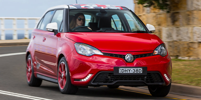 on sale from late november the mg 3 range first scheduled to launch here back in 2013 kicks off at 13990 before on road costs while the larger mg 6