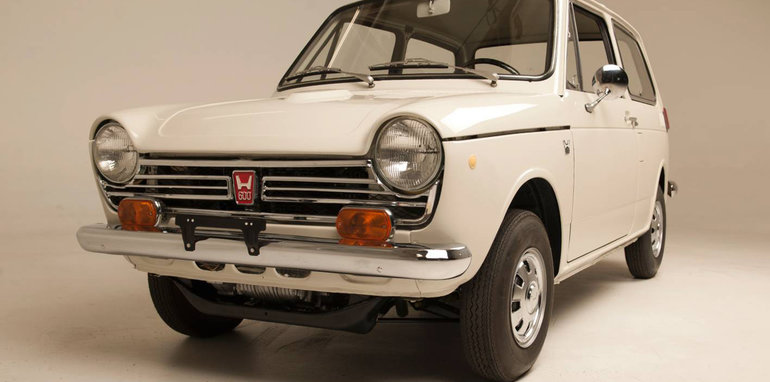 "Honda Reveals Fully Restored ""Serial One"" as Painstaking Six"