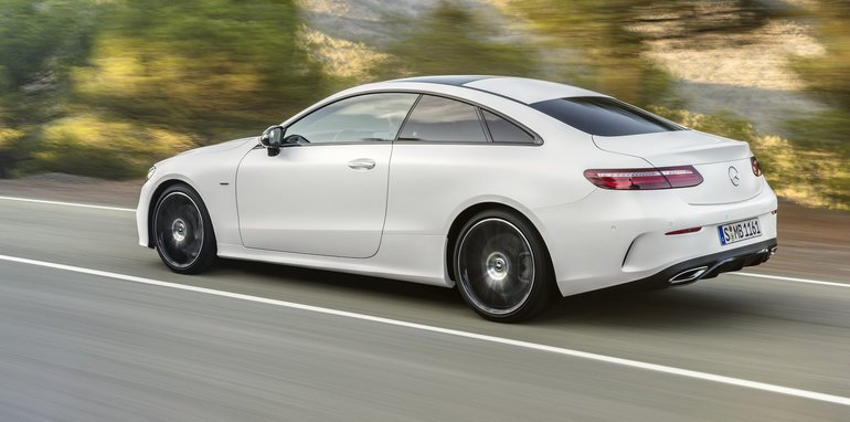 2017 mercedes benz e class coupe revealed ahead of australian debut. Black Bedroom Furniture Sets. Home Design Ideas
