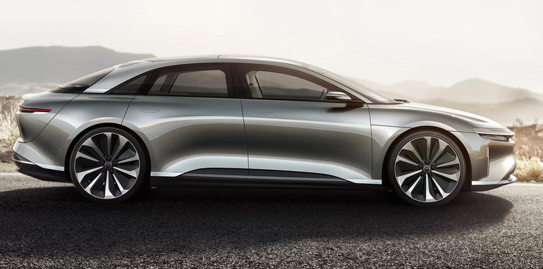 Lucid Air Revealed Ahead Of 2018 Debut New All Electric