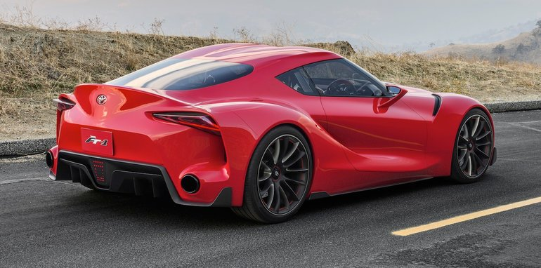 Supra Concept 2017 >> New Toyota Supra rendered