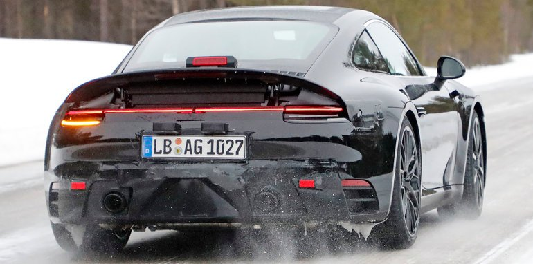 2018 porsche carrera. contemporary carrera porsche911spy214rear intended 2018 porsche carrera r