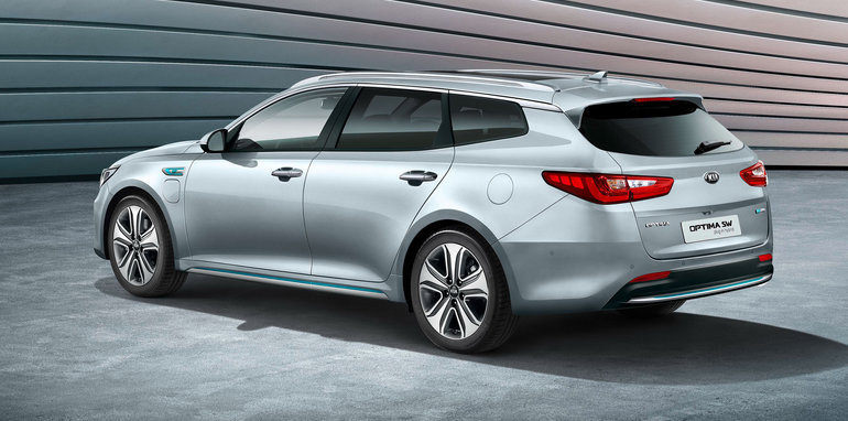 2017 kia optima sportswagon niro plug in hybrids unveiled at geneva. Black Bedroom Furniture Sets. Home Design Ideas