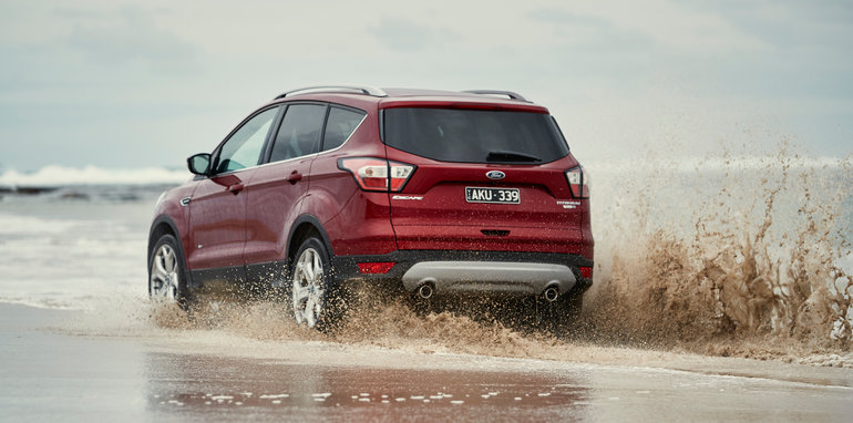 Beautiful 2017 Ford Escape Beach Blast