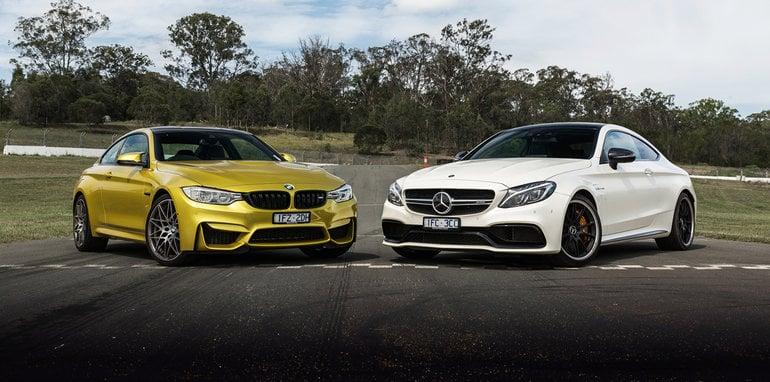 Bmw m4 coupe vs mercedes amg c63 s coupe photo comparison - Bmw M4 Competition V Mercedes Amg C63 S Coupe Track Comparison