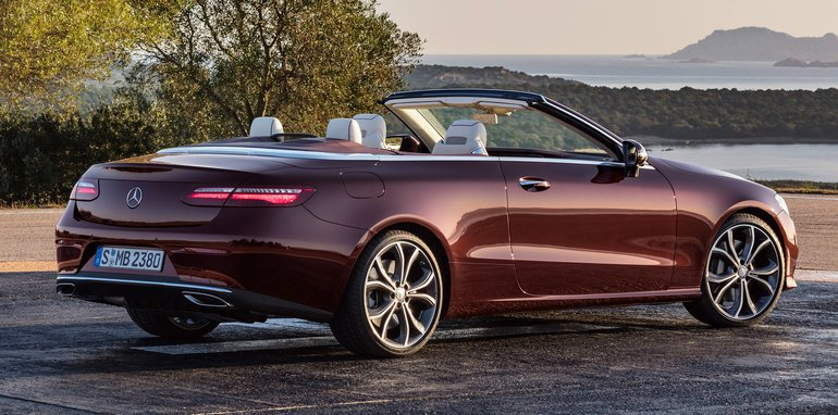 2017 mercedes benz e class cabriolet revealed. Black Bedroom Furniture Sets. Home Design Ideas