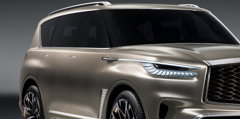 The Motoring World: Infiniti takes the full sized QX80 and ...