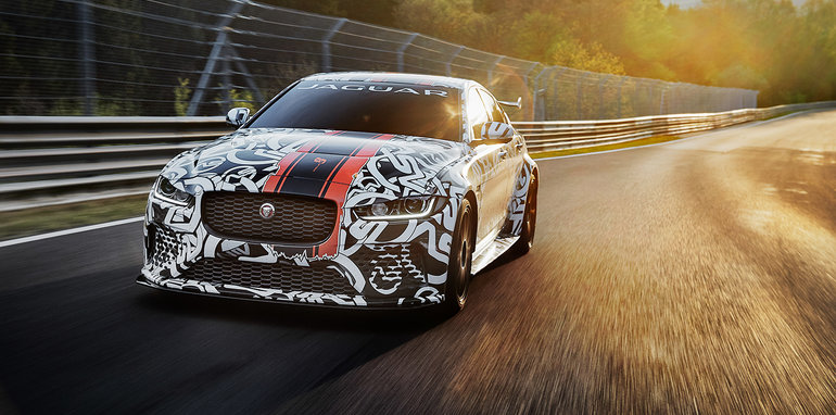 New Jaguar XE SV Project 8 is next Collector's Edition sports car designed, engineered and assembled by SVO
