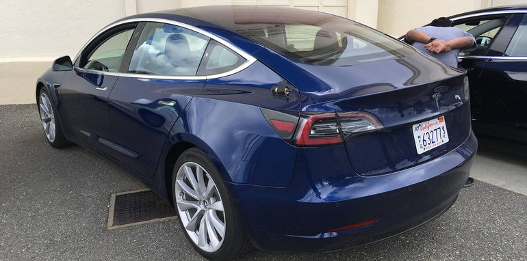 2018 tesla car. unique car unlike the model s which is available with two rearward facing jump seats  3 will be sold exclusively as a fiveseater vehicle and 2018 tesla car