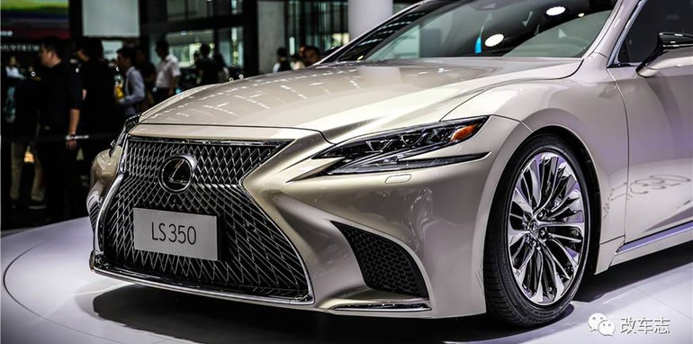 2018 lexus ls350 debuts in china not for australia update. Black Bedroom Furniture Sets. Home Design Ideas
