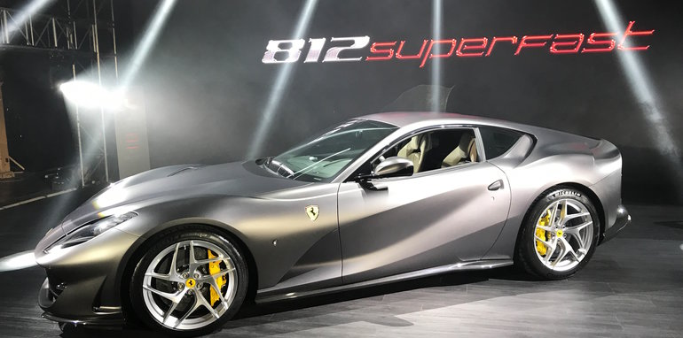 2018 ferrari 812 for sale. fine ferrari it offers a shattering 75 per cent new engine making it the most powerful  and fastest roadgoing ferrari ever built u2013 with exception of  to 2018 ferrari 812 for sale