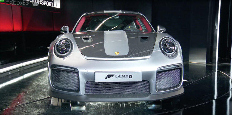 2018 porsche 911 gt2 rs revealed at e3. Black Bedroom Furniture Sets. Home Design Ideas