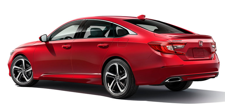 2018 Honda Accord revealed 10thgen sedan brings turbo power and